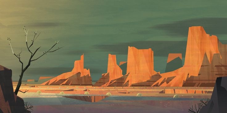 """""""Monument Valley"""" by Mike Yamada. I love this and I've been there!"""