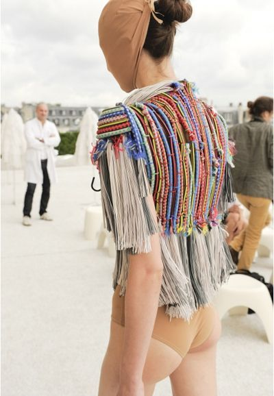MM6 X OC: A WALK DOWN MARGIELA MEMORY LANE - OPENING CEREMONY    knit and weave.