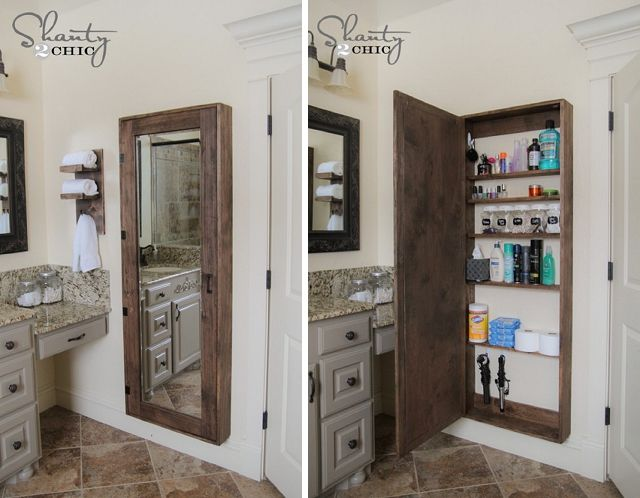 Rustic bathroom organization cabinet cheap diy upgrades tada pinterest cabinets bathroom for Cheap bathroom storage cabinets