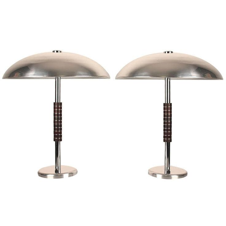 Pair of French Art Deco Table Lamp at 1stdibs