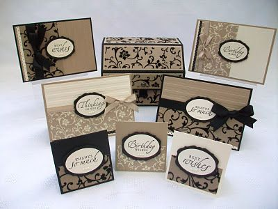 Stamping Moments: 3x3 cards