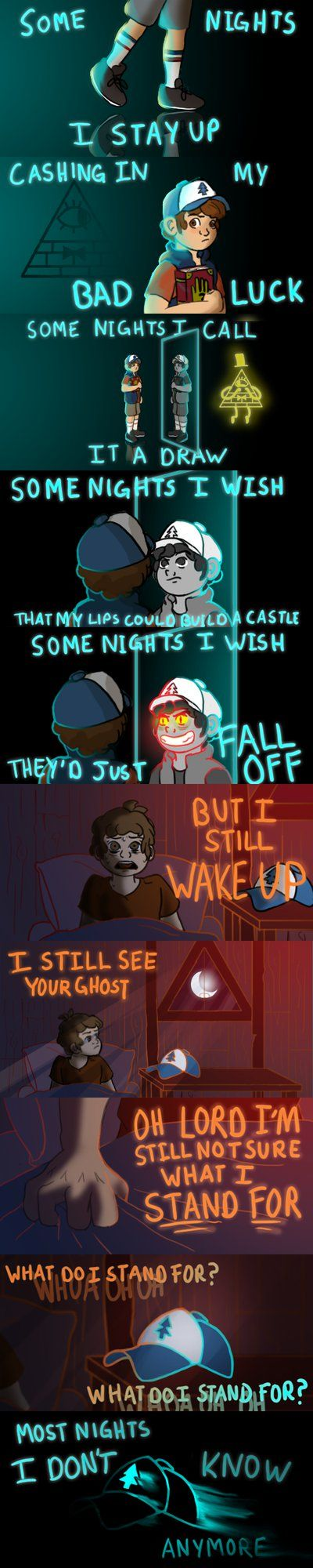 Gravity Falls: Some Nights by Charlemage on DeviantArt