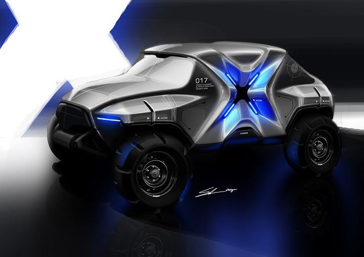 Toyota FX-Cruiser concept on Behance