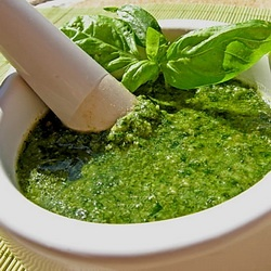 Home made pesto