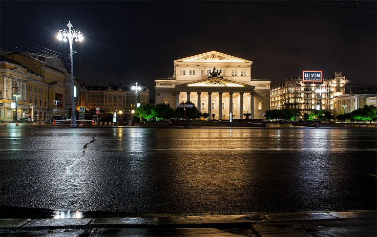 """""""The Big House"""" in Moscow by Evgeniy Nesvetaev on 500px"""