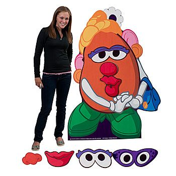 Hasbro Mrs Potato Head Standee $32.99