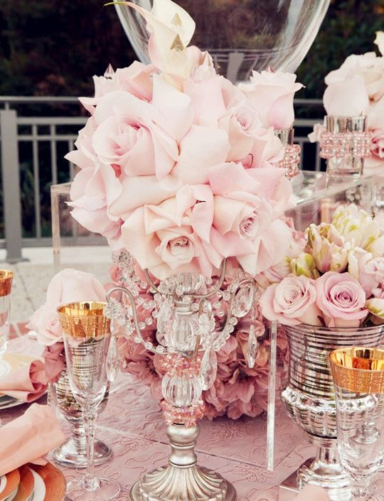 Runway Fashions About Weddings: Blush Pink - Great Idea for Your 2013 Wedding Color Theme