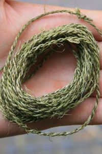 Cordage making tutorial