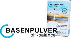 Con BASENPULVER pH-balance PASCOE® su cuerpo recibirá sustancias vitales para equilibrar un posible exceso de acidez, así como los importantes minerales calcio, magnesio, sodio y potasio para el buen funcionamiento de las células, los músculos y para fortalecer sus huesos.