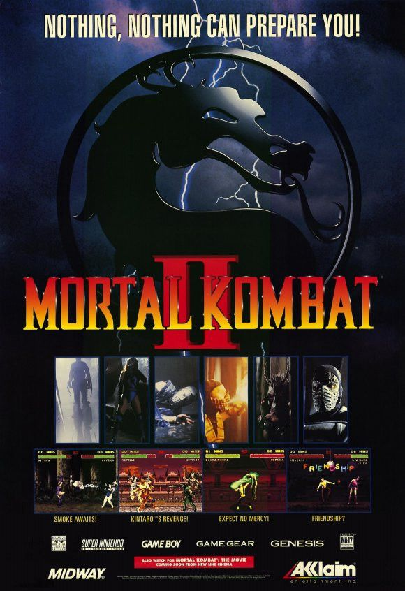 Mortal Kombat 11x17 Movie Poster