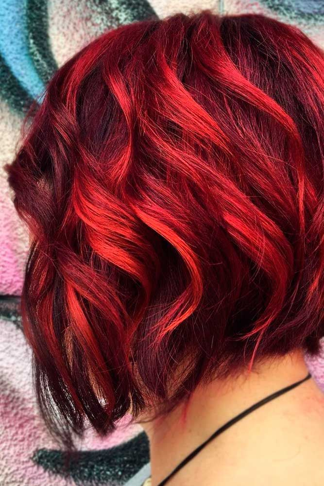 Best 20+ Red highlights ideas on Pinterest | Cowlick, Red ...