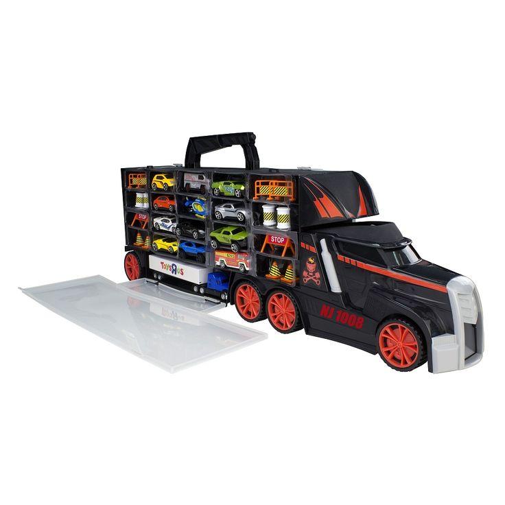 "Camion transporteur Fast Lane + 13 véhicules - Toys R Us - Toys""R""Us"