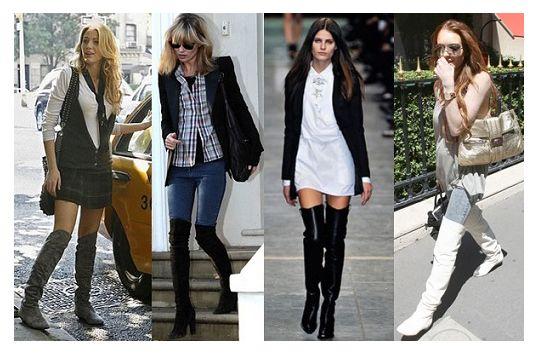 2013-2014 Sonbahar-Kış Kadın Çizme Modelleri
