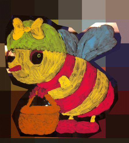 abeille-flouté