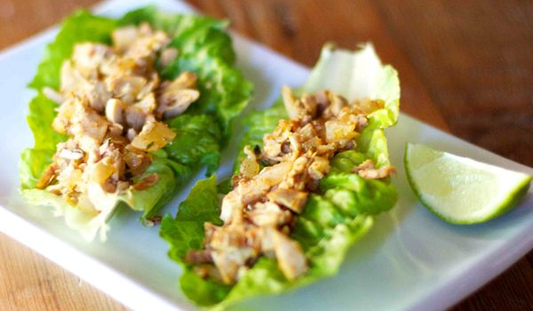 Paleo Jerk Chicken Lettuce Wraps - Jen's Journey- Made this and it's delicious!