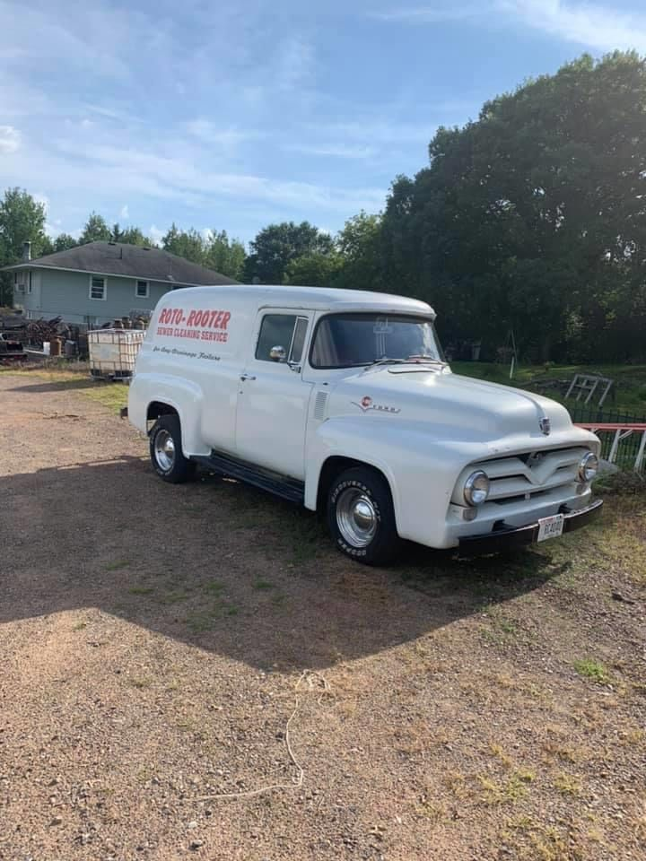 Pin By Julie On Ford Panels In 2020 1956 Ford Truck Ford Trucks Trucks