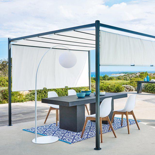 Les 1380 meilleures images propos de terrasse et balcon for Voilage salle a manger