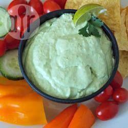 Foto de la receta: Dip de aguacate y queso crema