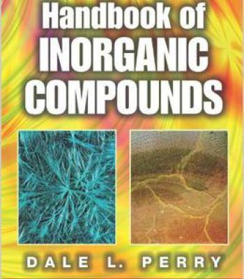 Handbook Of Inorganic Compounds Second Edition PDF