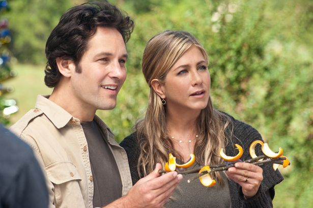 """""""Wanderlust,"""" (2012): Paul Rudd and Jennifer Aniston were spotted around Lawrenceville during filming."""