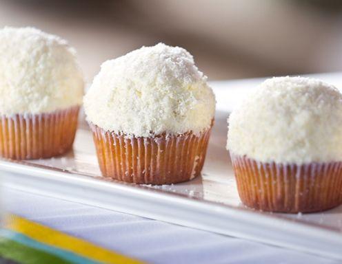Kokosové cupcakes....
