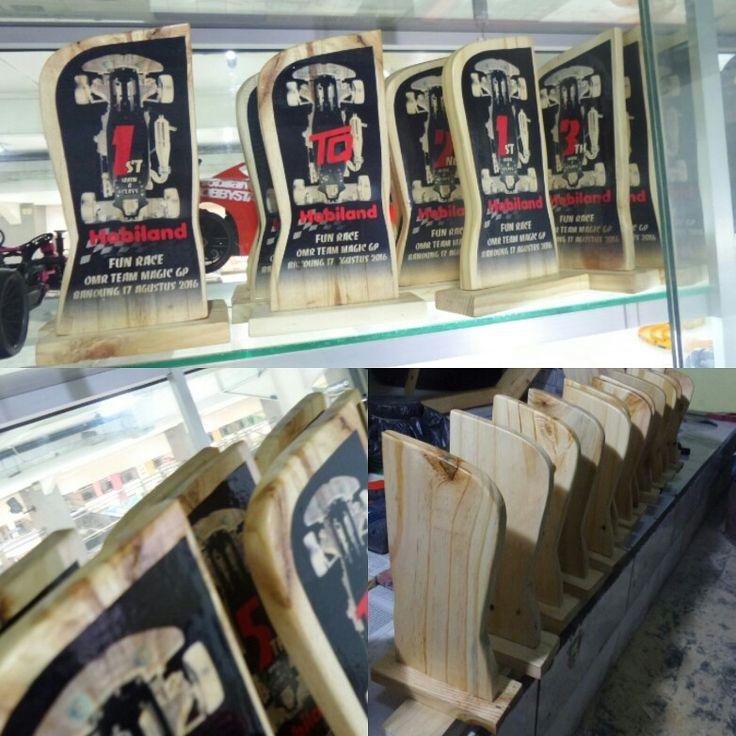 #wood #trophy #custom #design  OMR TeamMagic RC GasPower 1:10