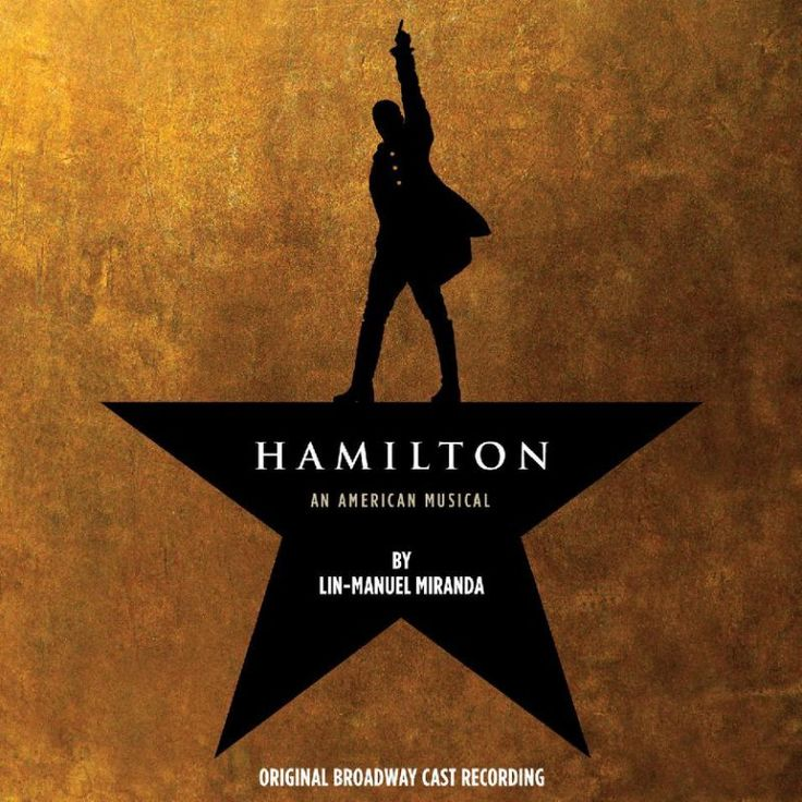 """This CD cover image released by Atlantic Records shows the Broadway cast album for """"Hamilton: An American Musical."""" Atlantic Records said last week that """"Hamilton"""" has so far sold over 54,000 albums, had more than 16 million songs streamed and become the highest debuting cast recording on the Billboard Top 200 in over 50 years _ not typical numbers for Broadway. (Atlantic Records via AP)"""
