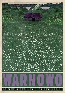 Ryszard Kaja - Warnowo, polski plakat turystyczny