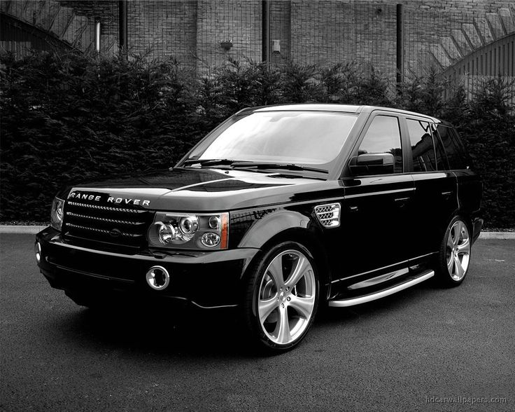 Range Rover. I'd prefer white for a mommy mobile.