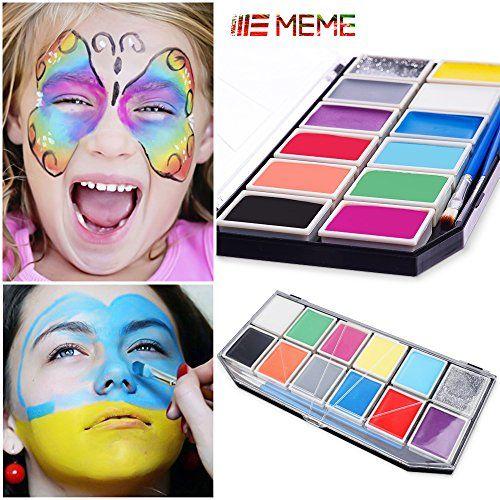 Face Painting ,Meme Body Paint Set Professional Face Pain... https://www.amazon.co.uk/dp/B01M98P8UE/ref=cm_sw_r_pi_dp_x_V8JjybDB4MTHF
