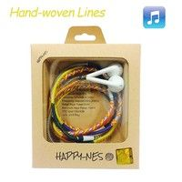 100% New Headphones, Hand-woven Lines, Ethnic Customs  The line does not fade, harmless to human ski