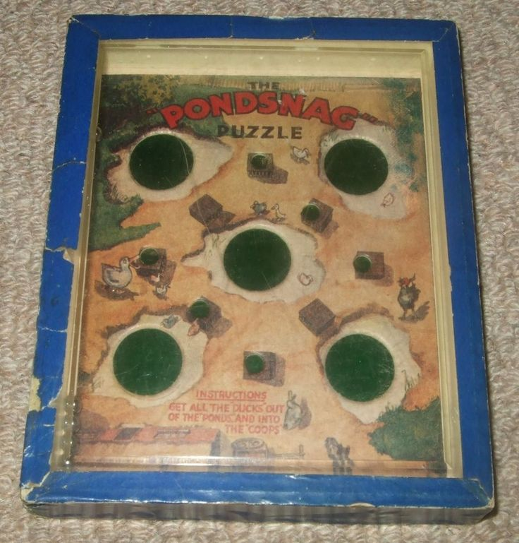 VINTAGE PONDSNAG DEXTERITY PUZZLE GAME - R. JOURNET