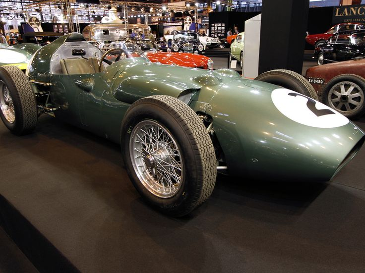 Aston Martin DBR4/4 Grand Prix : Rétromobile 2014 : les plus belles voitures de collection - Linternaute.com Automobile