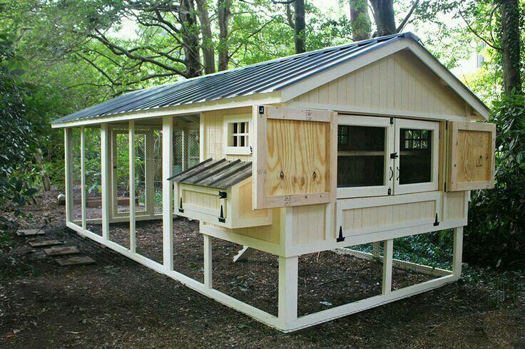 Pin tillagd av moises abreu p projetos para experimentar for Chicken coop kits for 12 chickens