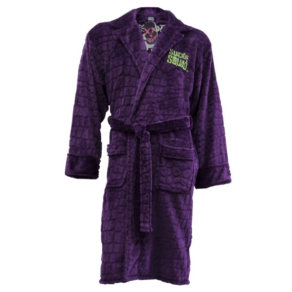 DC Comics - Suicide Squad - Joker Hooded Bathrobe - ZiNG Pop Culture