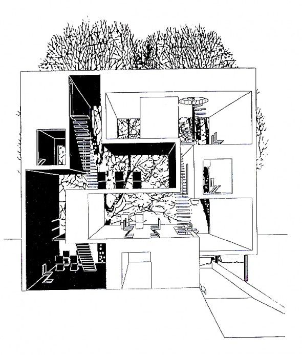 Well, you would get your exercise each day!   MVRDV   Double house   1997