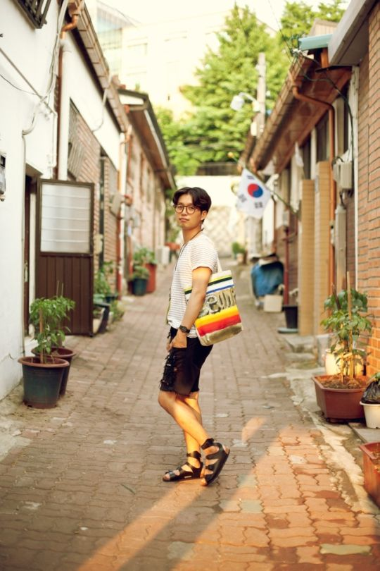 birkenstock, gentle monster, street fashion from seoul, korea