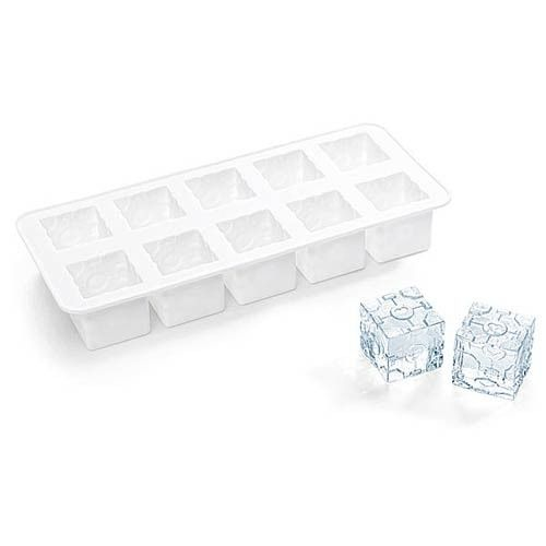 No drink is alone and companionless when you've got the Portal 2 Companion Cube Ice Cube Tray! Each tray makes 10 Companion Cube ice cubes shaped into their video game counterparts from Portal 2.