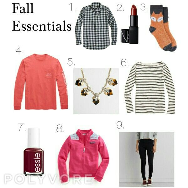 Fall Essentials pt. 2: