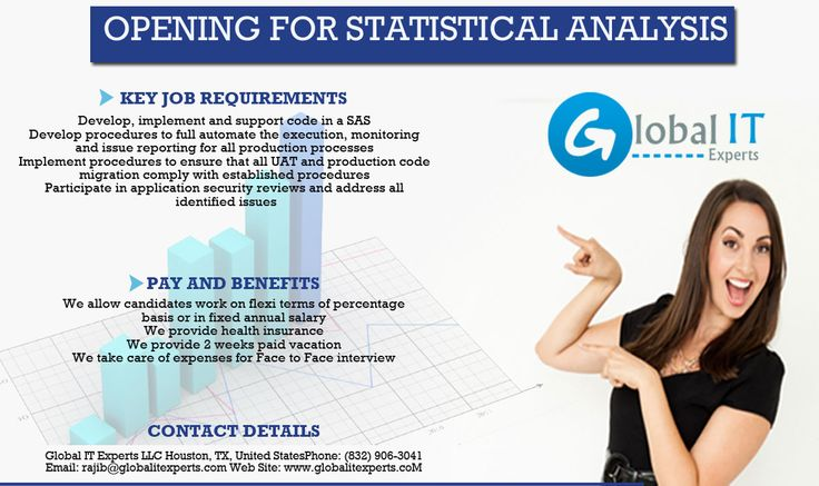 Opening for SAS(Statistical Analysis System).For more info visit this link:http://www.globalitexperts.com/2015/11/13/opening-for-sas/#more-54 #globalitexperts #jobopenings