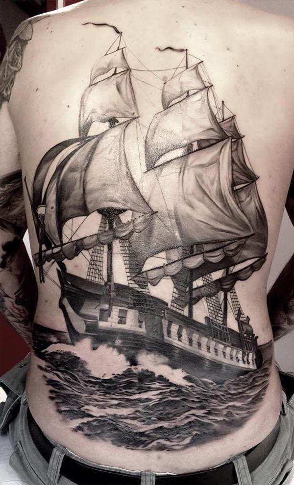 40 Boat Tattoo Designs