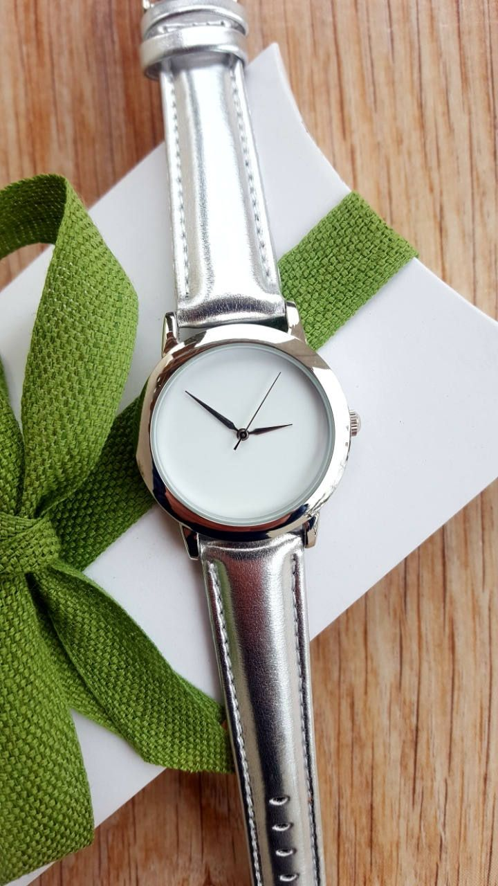 Minimalist Silver Watch, Women's Jewellery, Fashion Watch, Handmade Watch, Valentines Gift, Romantic Gift by IrishFashionWatches on Etsy