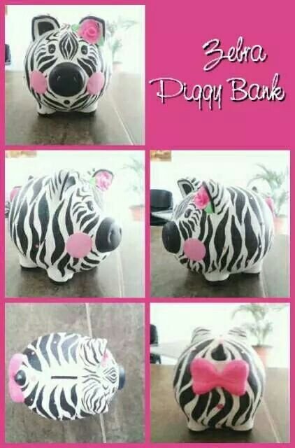 Piggy zebra♡♡