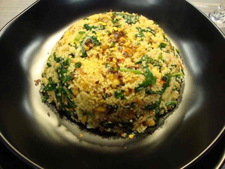 Soya, atún y cuscús… Un plato balanceado, con óptimas proporciones de proteína, grasas, vitaminas, carbohidratos y fibra!!!