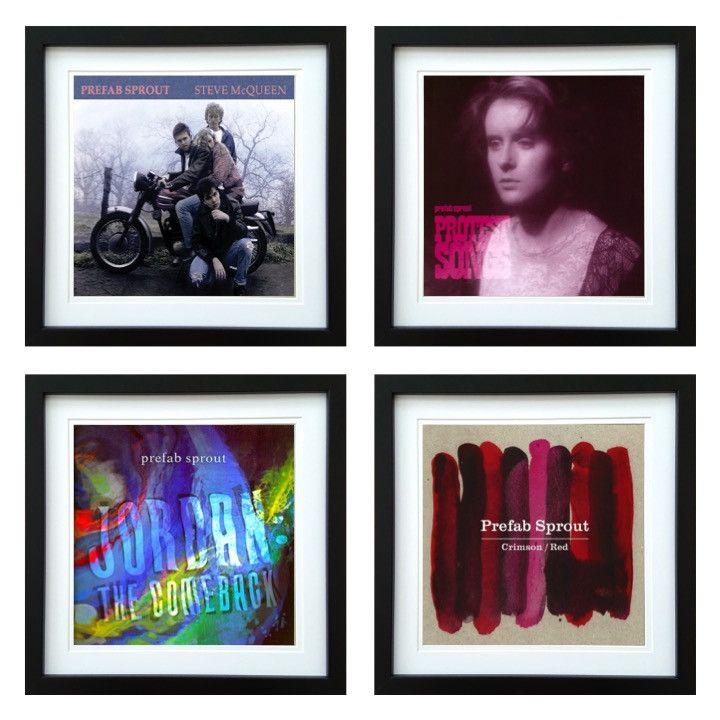 Prefab Sprout | Framed Album Art Set of 4 Images | ArtRockStore