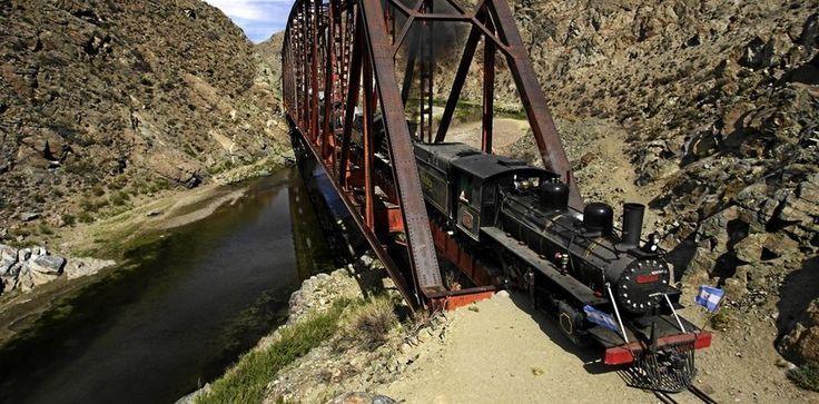 Michael Kerr takes a memorable ride on La Trochita (The Old Patagonian Express), a vintage narrow gauge steam train which carries its passengers along Patagonia's windy terrain