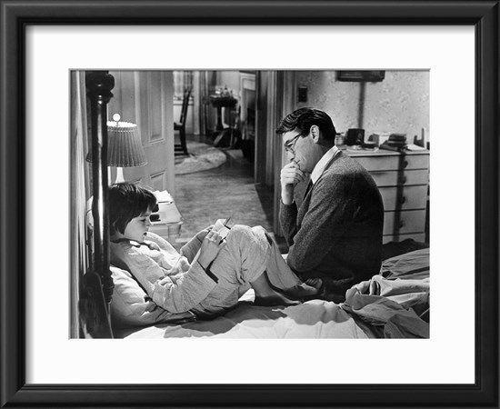 To Kill A Mockingbird, Mary Badham, Gregory Peck, 1962 Photo at Art.com
