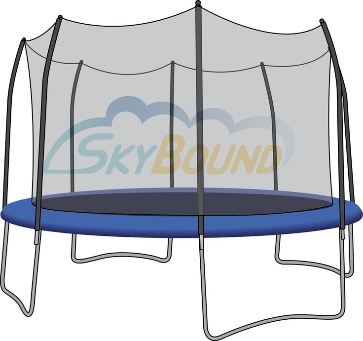 Sunguard Trampoline Mat: 15 Ft Frames; 96 Springs; 6.5