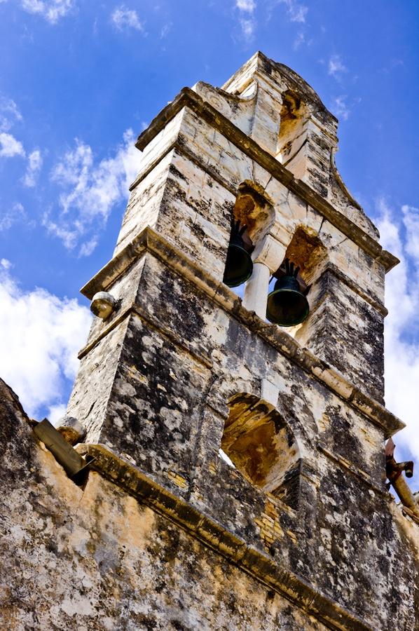 Old bell tower, Corfu, Greece