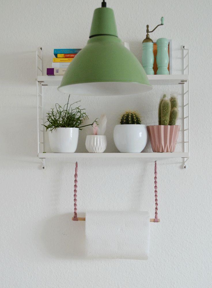 102 best DIY Küchenrollenhalter ♡ Wohnklamotte images on Pinterest ...